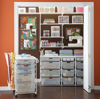 craft closet idea from Container Store
