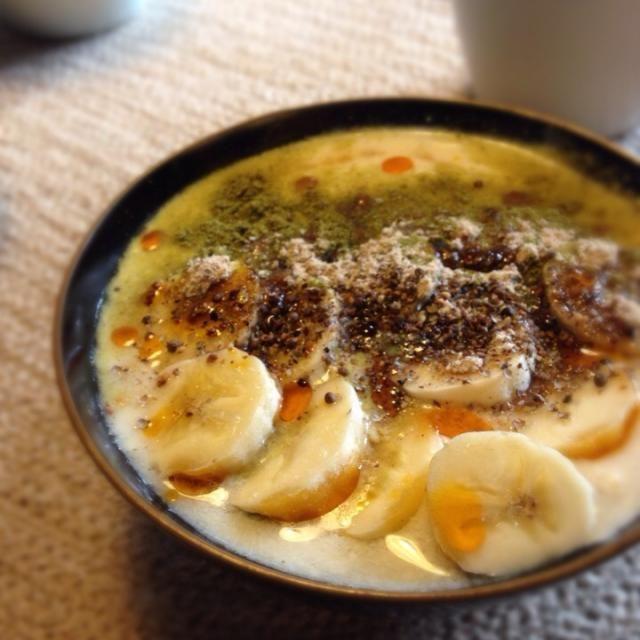 花粉症対策。 玄米から乳酸菌を作り豆乳ヨーグルトにしてみました。 腸内環境を整えます(*^_^*) 花粉症治って〜(T ^ T) - 20件のもぐもぐ - 手作り乳酸菌で豆乳ヨーグルト by adukina