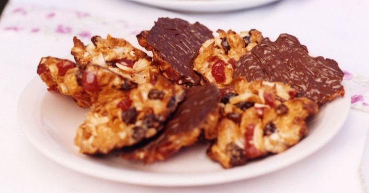 Crunchy florentines are a favourite of nut-lovers everywhere.
