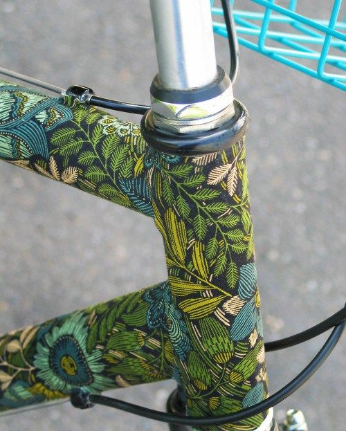 D.I.Y Tuesday – fabric covered bike