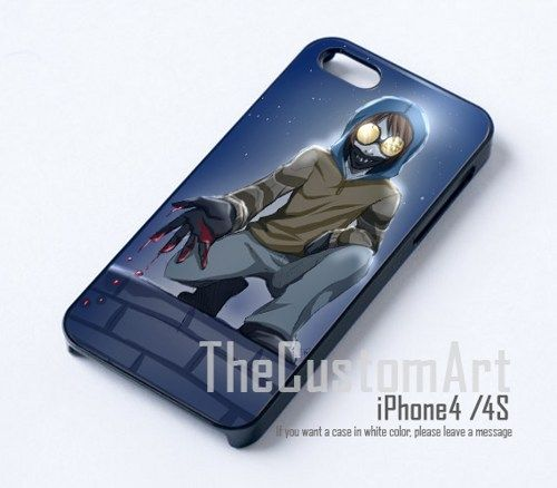 Black Iphone S Case