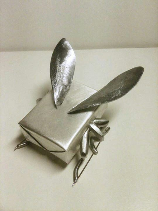 Robean Visschers  - Butter-fly. Brooch. Silver, steel