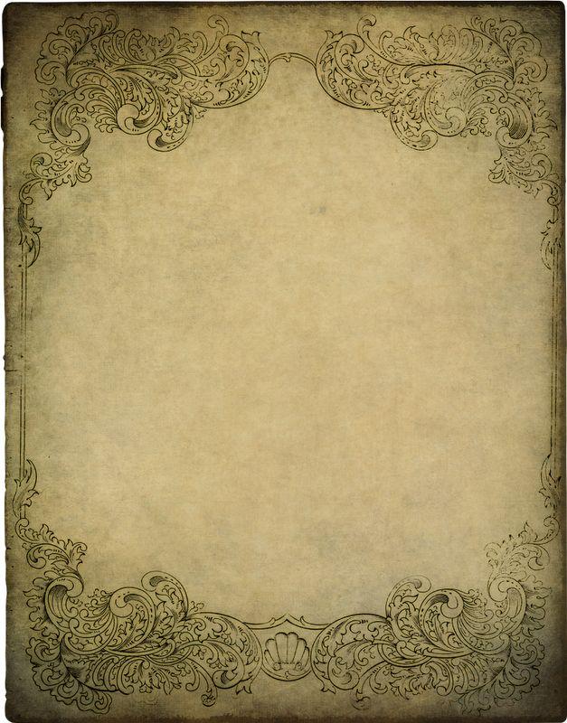 Lacy Background Paper Zibi Vintage Scrap