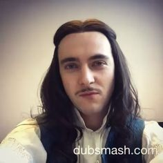 George Blagden as King Louis XIV in the hit canal+ series Versailles