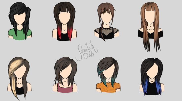 yes, I've been saying all along that someone should draw the evolution of her hair so thank you to who did this