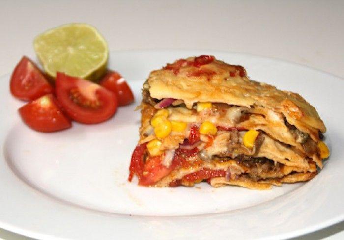 Heerlijke tortilla taart