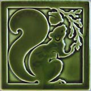 I'm sensing a theme here. This is called Squirrel, right facing ... love the fluidity of the design. Carreaux du Nord, Two Rivers, WI.