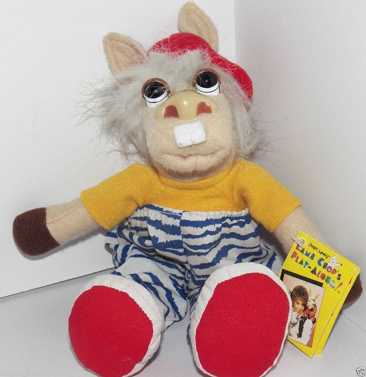 1992 90's Toy Shari Lewis Lamb Chop's Play Along 9 ...