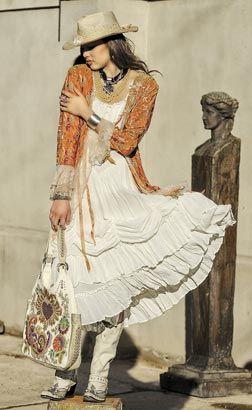 Texas Womens Fashion Designer Western Wear Los Angeles, Vintage Look Fashion Skirts by Marrika Nakk