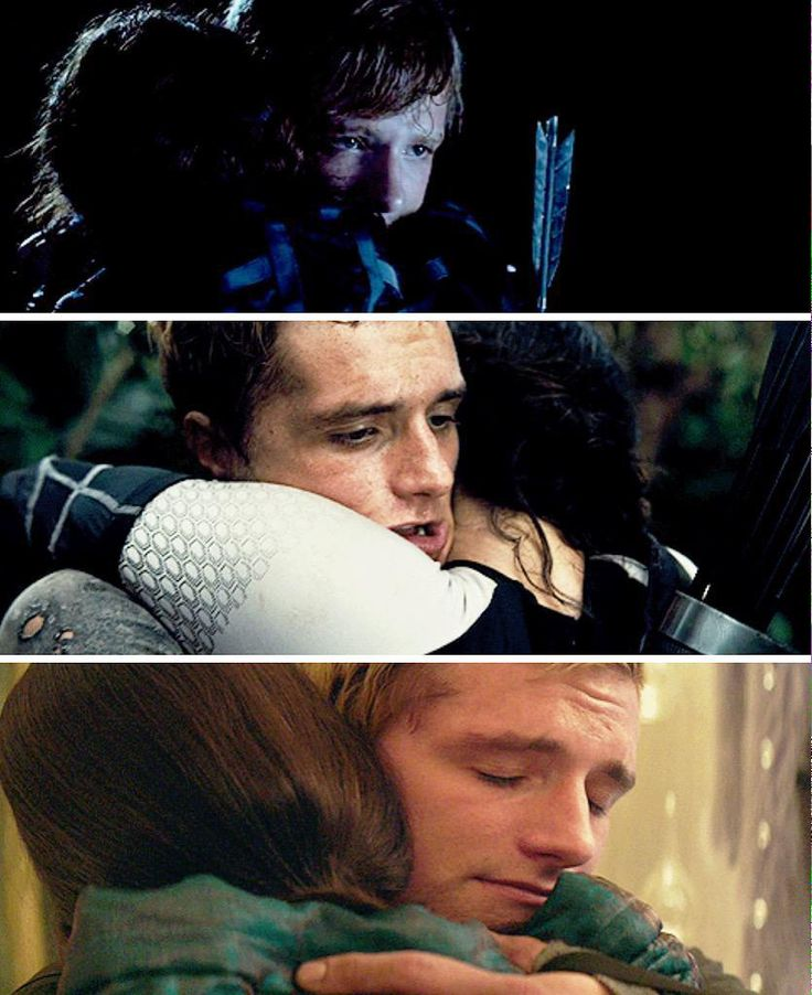 Everlark. Josh looks so different over the course of the three movies!