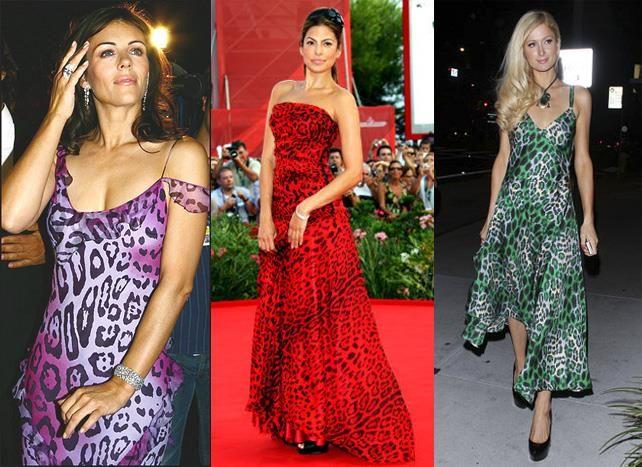 Леопардовое платье пэрис хилтон дизайнер