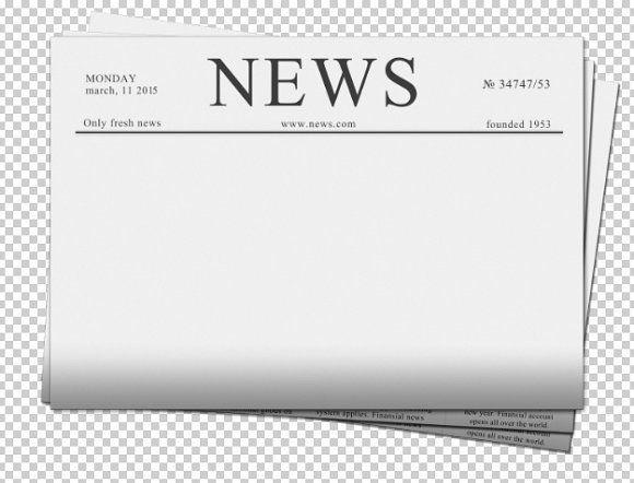 Blank Newspaper By Neirfy On @creativemarket