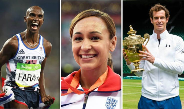 OLYMPIC heroes Mo Farah, Andy Murray and Jessica Ennis-Hill lead the New Year Honours in a list dominated by Rio 2016's Great Britain team.