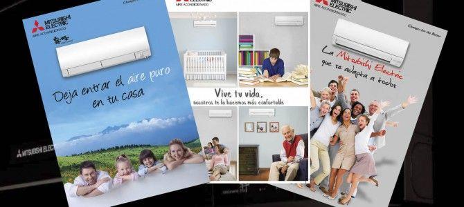 Todos los catálogos de tu aire acondicionado Mitsubishi Electric