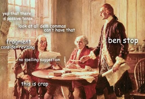 The Captioned Adventures of Ben Franklin