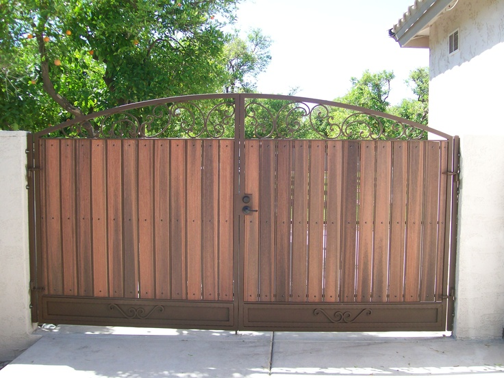 17 Best Images About Metal And Wood Gates Rolling Gates