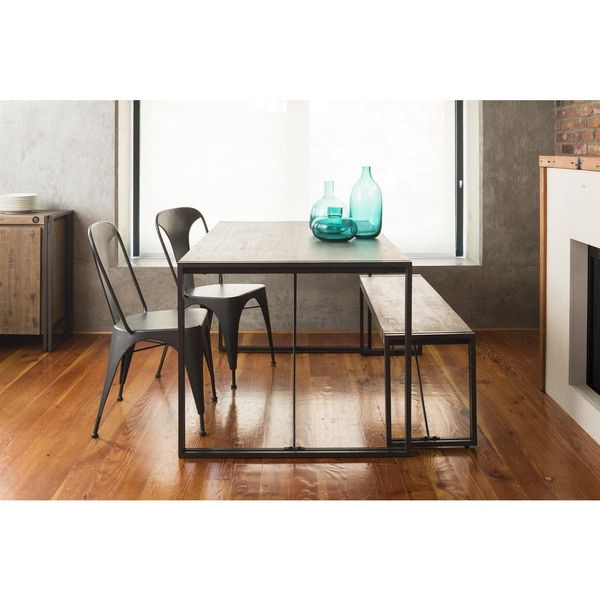Furniture Dining And Kitchen Tables Farmhouse Industrial: 1000+ Ideas About Rustic Dining Tables On Pinterest
