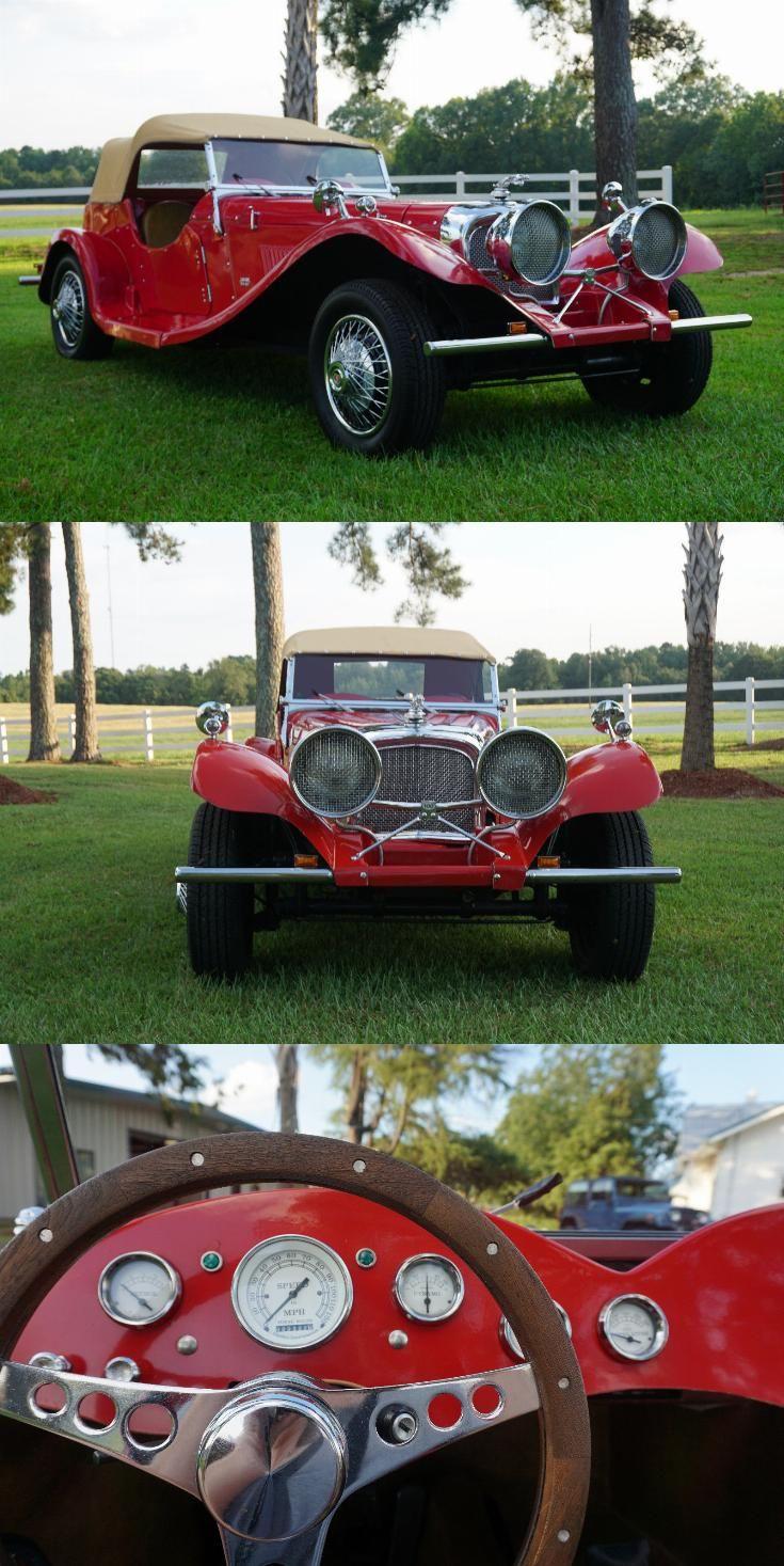 Classic 1937 Jaguar Ss100 Replica Jaguar Replica Cars Cars For Sale