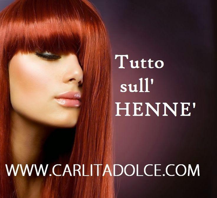 TUTTO SULL'HENNE' !!!