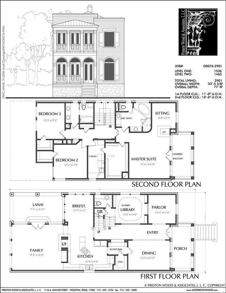 67 Best Townhouse Duplex Plans Images On Pinterest