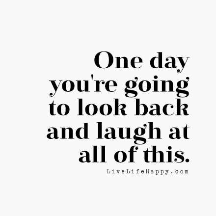 You�re Going to Look Back