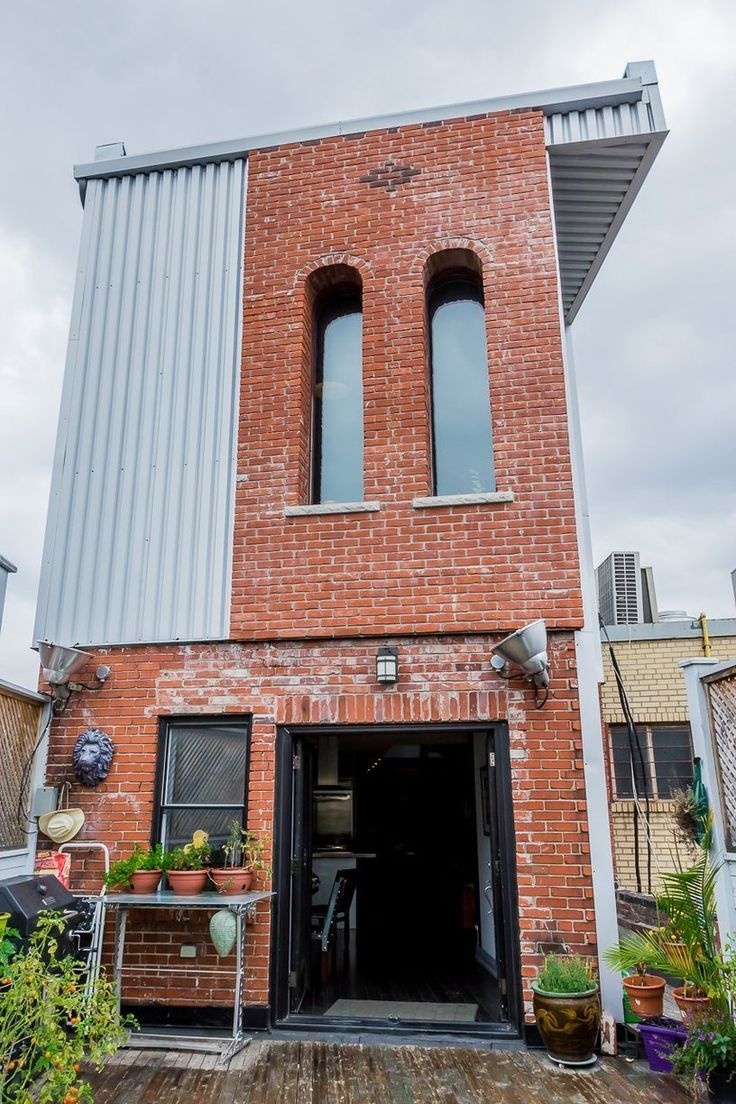 Marco  Ilses Gothic Industrial Loft  Cool exterior  Feathering the Nest  Industrial loft