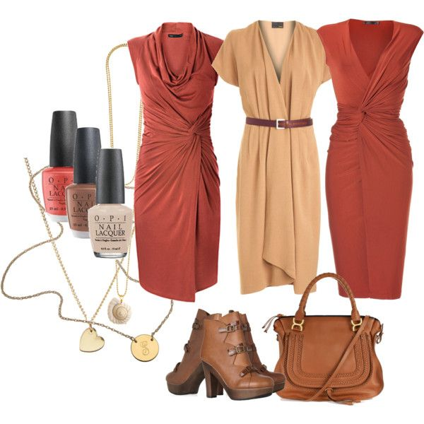 three days in a row soft autumn by teamonkey on Polyvore featuring мода, Fendi, Donna Karan, MANGO, See by Chloé, Chloé, Jennifer Zeuner, ASOS, Vanessa Mooney and OPI