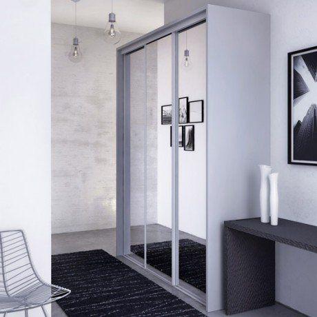 17 meilleures id es propos de porte coulissante miroir for Porte miroir coulissante sur mesure