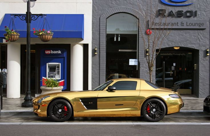 17 best images about car wraps gold on pinterest cars for Mercedes benz burlingame