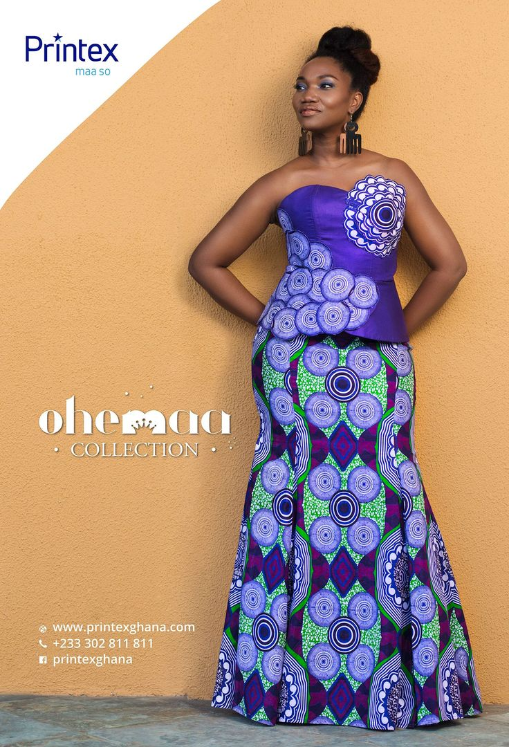Ghana: Printex releases new african fashion collection 'Ohemaa' | Sierra Leo…