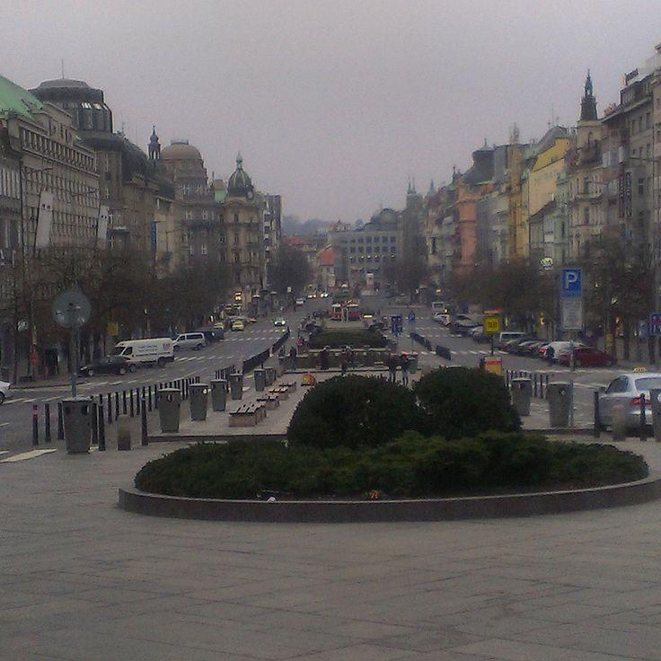 Praga Plac Wacława