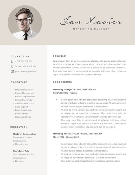 Best Ms Word Resume Templates Images On   Resume