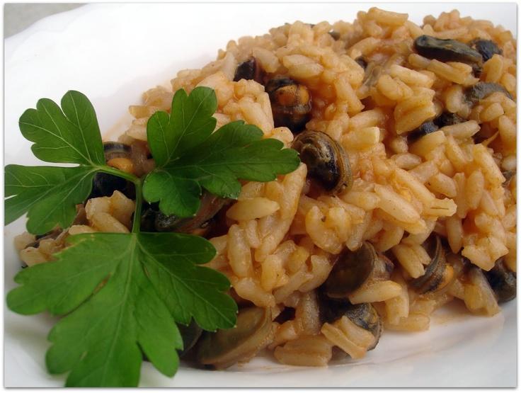 Arroz de Lapas à Madeirense | Limpet rice (Madeira style)