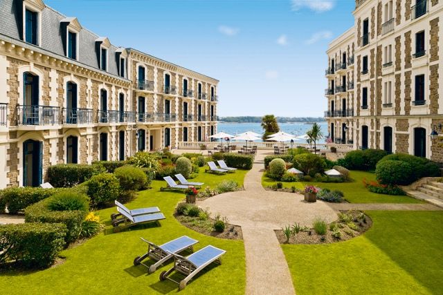 We loved our stay at The Grand Hôtel Barrière de Dinard last week in Brittany, France!