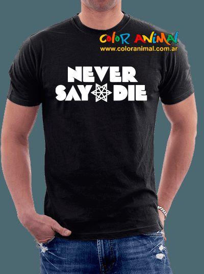 Never Say Die Records - Comprar en Color Animal