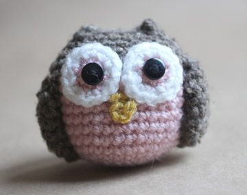 Repeat Crafter Me: Crochet Owl Family Amigurumi Pattern