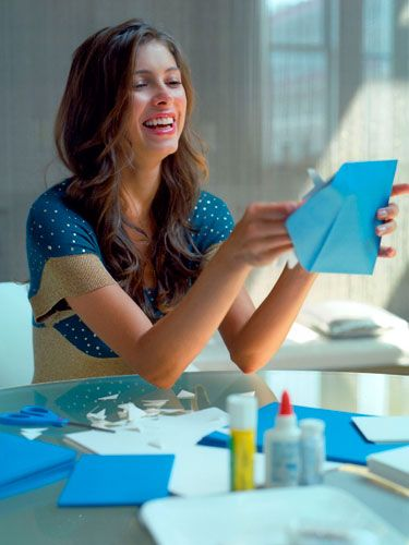 Bachelorette Party Idea: Buy a scrapbook with removable pages, and mail a page to all of the bachelorette's girlfriends. Ask everyone to decorate one side with photos of herself and/or the bride, funny quotes and memories, a letter, mementos of their friendship, etc. On the other side, have them write out their favorite recipe. Wrap it up and give it to her during the party.