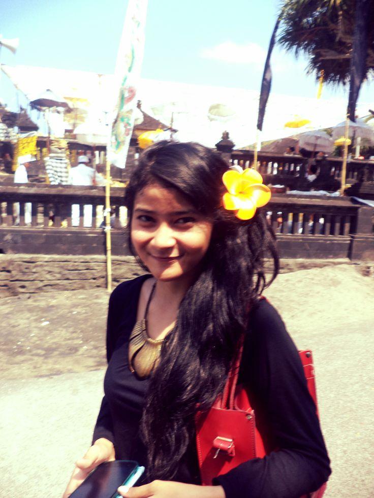 the girl of Bali