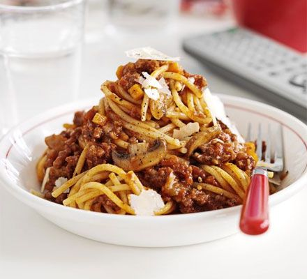 Whip up a huge batch of bolognese that's fit to feed a hungry crowd, or freeze half for a speedy midweek meal