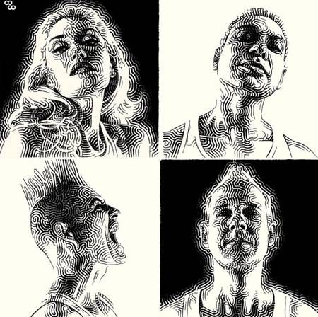 And how graphically dynamic, JUST like the band it's modeled after!  Our 1990s band-crush No Doubt have returned to the fickle music scene with their...