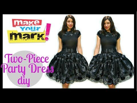 Making a Flower Fairy Dress - Part one - YouTube