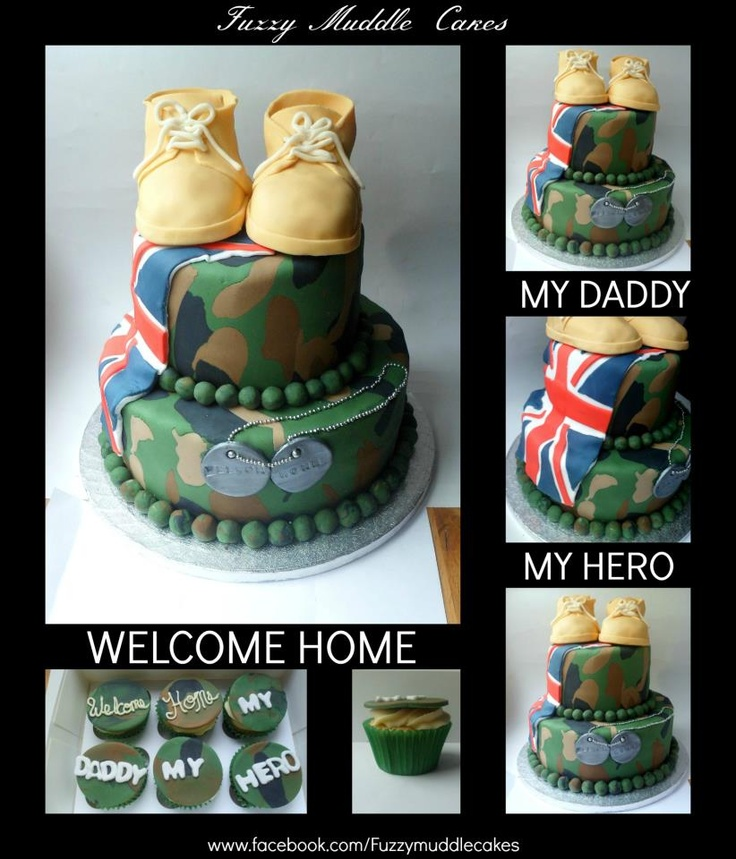 14 Best Welcome Home Cake Images On Pinterest Welcome Home Cakes Cake Ideas And Marines