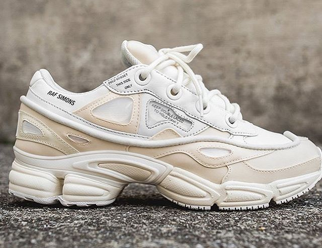 A closer look to new Raf Simmons x adidas Cream Ozweego Bunny #WEDESIRE