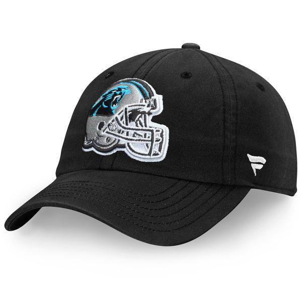 Carolina Panthers Pro Line by Fanatics Branded Youth Fundamental Adjustable Hat - Black - $14.99