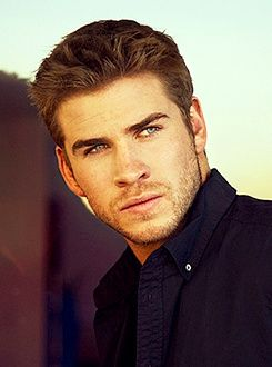 Liam Hemsworth; And he's Australian too which I think is just unfair to all the other men out there, really.