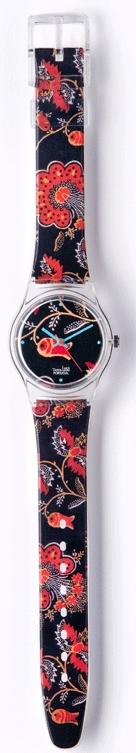 Relógio com Chita de Alcobaça - Coleção Terra Lusa