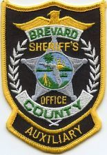 BREVARD COUNTY FLORIDA  Auxiliary SHERIFF PATCH