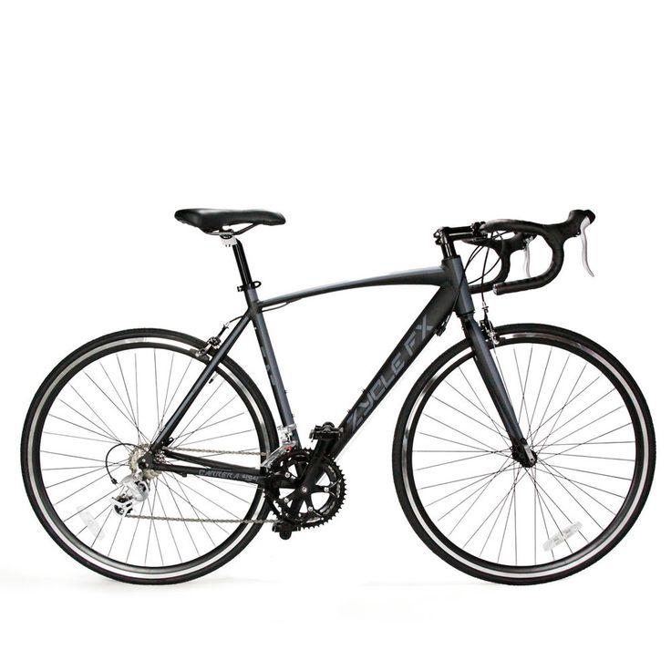 49cm mens womens  matt black entry level road bike bicycle  700C SHIMANO 2300 #Carrera