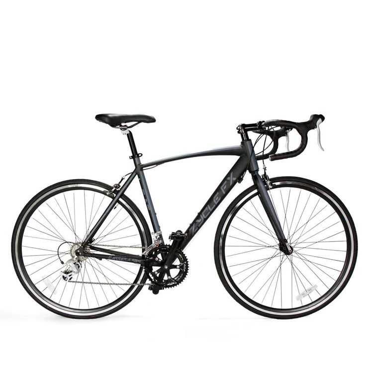 49cm mens womens  matt black entry level road bike bicycle  700C SHIMANO 2300 #Carrera