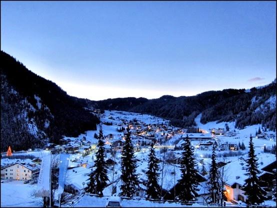 Corvara, Alta Badia, Alps, Italy, Mountain, Sunrise Lights, Christmast Time